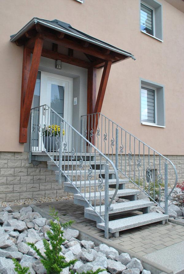 Treppengeländer bei Bauschlosserei Prüfer